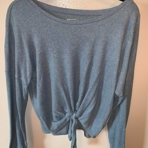 Sweaters - blue knot sweater